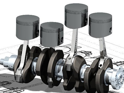 Industrial CAD models